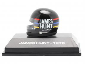 James Hunt McLaren M23 #11 formula 1 World Champion 1976 helmet 1:8 MBA
