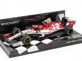 Kimi Räikkönen Alfa Romeo Racing C39 #7 formula 1 2020 1:43 Minichamps