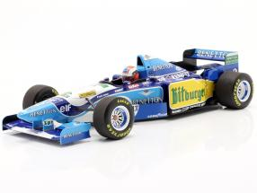 Johnny Herbert Benetton B195 #2 Winner British GP formula 1 1995 1:18 Minichamps