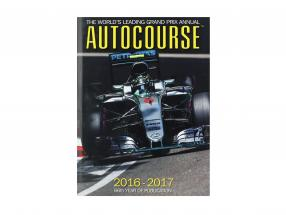 Book: AUTOCOURSE 2016-2017: The World's Leading Grand Prix Annual (English)