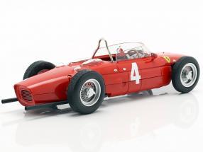 Graf Berghe v. Trips Ferrari 156 Sharknose #4 Winner British GP F1 1961