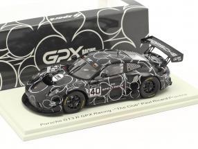 Porsche 911 GT3 R GPX #40 Test Paul Ricard GT World Series 2020 1:43 Spark