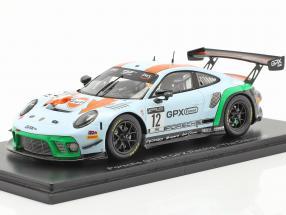 Porsche 911 GT3 R GPX Racing Gulf #12 GT World Challenge 2020 1:43 Spark