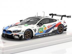 BMW M8 GTE #82 2nd LMGTE Pro 6h Fuji WEC 2018 Blomqvist, da Costa 1:43 TrueScale
