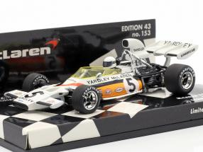 B. Redman McLaren Ford M19 #5 German GP formula 1 1972 1:43 Minichamps