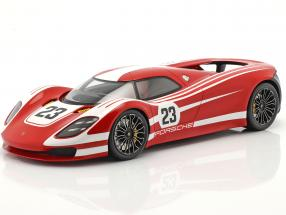 Porsche 917 Living Legend Concept Car #23 red / white with showcase 1:18 Spark