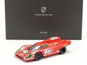 Porsche 917K #23 Winner 24h LeMans 1970 Attwood, Herrmann With Showcase 1:18 Spark