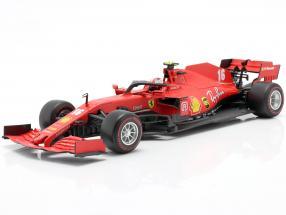 Charles Leclerc Ferrari SF1000 #16 2nd Austrian GP formula 1 2020 1:18 Bburago