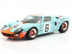 Ford GT40 MK1 #6 Winner 24h LeMans 1969 Ickx, Oliver 1:18 Solido