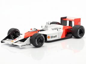 Ayrton Senna McLaren MP4/4 #12 F1 World Champion 1988 1:24 Premium Collectibles