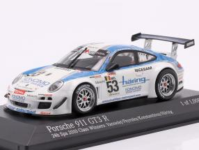 Porsche 911 GT3 R #53 Class Winner 24h Spa 2010 1:43 Minichamps