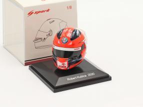 Robert Kubica Alfa Romeo Racing Orlen formula 1 2020 helmet 1:8 Spark