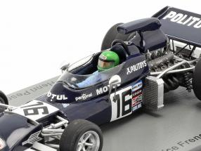Henri Pescarolo March 721 #16 Practice France GP formula 1 1972