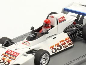 Jac Nelleman Brabham BT44B #33 Practice Sweden GP formula 1 1976