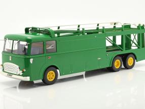 Fiat Bartoletti 306/2 Race Car Transporter 1970 David Piper Racing 1:18 Norev