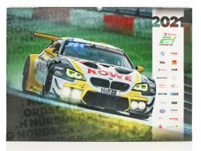 24h Nürburgring calendar 2021  67 x 42 cm / group C Motorsport publishing company