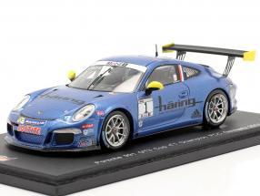 K. Estre Porsche 911 (991) GT3 Cup #1 Champion Germany PCC 2013 1:43 Spark