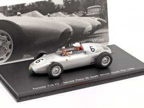 Joakim Bonnier Porsche 718 F2 #6 2. Space GP South Africa 1960 1:43 Spark