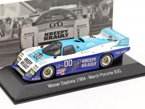 March Porsche 83G #00 Winner 24h Daytona 1984 Kreepy Krauly Racing 1:43 Spark