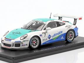 Porsche 911 (991) GT3 Cup #7 Winner PCC Germany 2016 Sven Müller 1:43 Spark