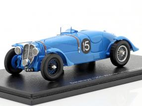Delahaye 135 CS #15 Winner 24h LeMans 1938 Chaboud, Tremoulet 1:43 Spark