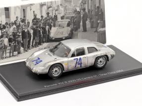 Porsche 356 B 2000 GS Carrera GT #74 Targa Florio 1964 1:43 Spark