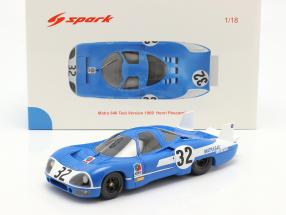 Matra 640 #32 Test 24h LeMans 1969 Pescarolo 1:18 Spark