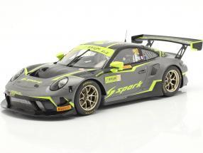 Porsche 911 GT3 R #912 FIA GT World Cup Macau 2019 Kevin Estre 1:18 Spark
