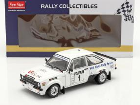 Ford Escort RS 1800 #1 Winner Roger Albert Clark Rallye 2009 1:18 SunStar