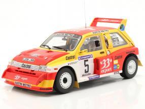 MG Metro 6R4 #5 Winner Rallye Criterium de Cevennes 1986 1:18 SunStar