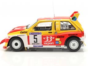 MG Metro 6R4 #5 Winner Rallye Criterium de Cevennes 1986  SunStar