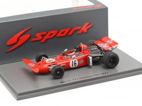 Andrea de Adamich March 711 #16 German GP formula 1 1971 1:43 Spark