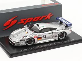 Porsche 911 GT1 #32 24h LeMans 1997 McNish, Ortelli, Wendlinger 1:43 Spark