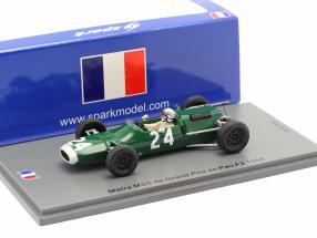 Jackie Stewart Matra MS5 #24 4th GP de Pau formula 2 1966