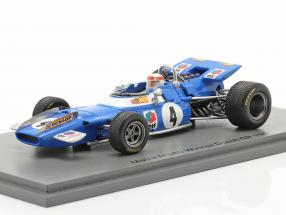J. Stewart Matra MS80 #4 Winner Dutch GP formula 1 World Champion 1969 1:43 Spark