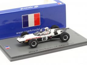 Graeme Lawrence McLaren M4A #16 GP de Pau formula 2 1968 1:43 Spark