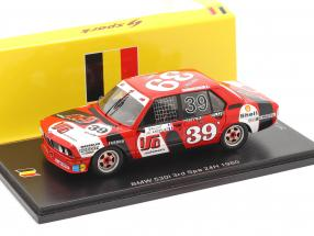 BMW 530i #39 3rd 24h Spa 1980 J.M.S. Racing Team 1:43 Spark