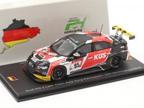 Audi RS3 LMS #95 24h Nürburgring 2019 Avia Sorg Rennsport 1:43 Spark