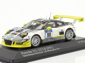Porsche 911 GT3 R #911 24h Nürburgring 2016 Manthey Racing 1:43 Minichamps