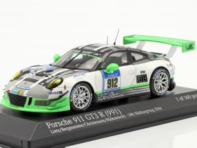 Porsche 911 GT3 R #912 24h Nürburgring 2016 Manthey Racing 1:43 Minichamps