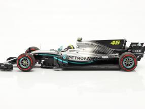 Valentino Rossi Mercedes-AMG F1 W08 #46 Ride Swap Valencia 2019