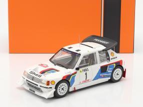 Peugeot 205 T16 E2 #1 2nd Rallye Monte Carlo 1986 Salonen, Harjanne 1:18 Ixo