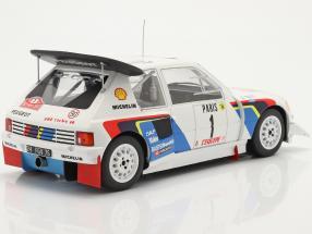 Peugeot 205 T16 E2 #1 2nd Rallye Monte Carlo 1986 Salonen, Harjanne