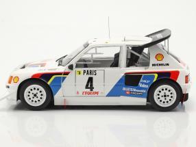 Peugeot 205 T16 E2 #4 5th Rallye Monte Carlo 1986 Kankkunen, Piironen