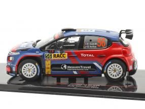 Citroen C3 R5 #56 Rallye Catalunya 2019 Camilli, Veillas