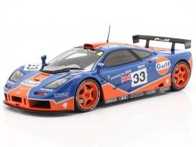 McLaren F1 GTR #33 9th 24h LeMans 1996 Gulf Racing 1:18 Solido