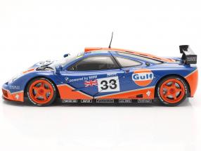 McLaren F1 GTR #33 9th 24h LeMans 1996 Gulf Racing