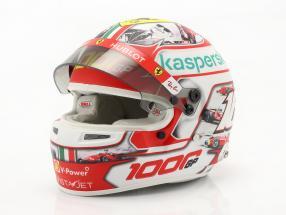 C. Leclerc #16 1000th Ferrari formula 1 GP Tuscany 2020 helmet with showcase