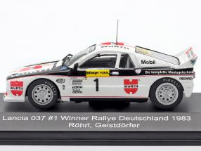 Lancia 037 #1 Winner Rallye Germany 1983 Röhrl, Geistdörfer