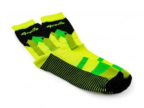Manthey-Racing Socks Grello 911 yellow / green size 38-42
